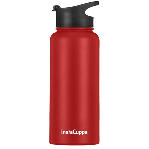 Image of Red InstaCuppa Thermos Water Bottle