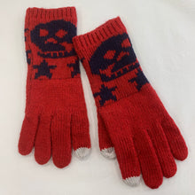 Skull Gloves - with Tech Fingers - Multiple Colors