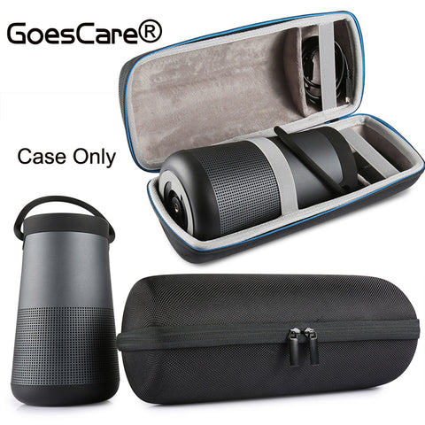 GoesCare For Bose Soundlink Revolve+ Plus Case EVA Carry Protective Speaker Box Pouch Cover Extra Space For Plug & Cables