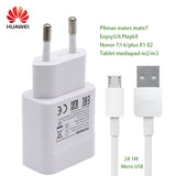 Huawei Honor7 Original Charger Travel Wall Adapter 5V2A Micro USB Data Cable P8max mate7 honor6 plus Tablet Mediapad m2 m3