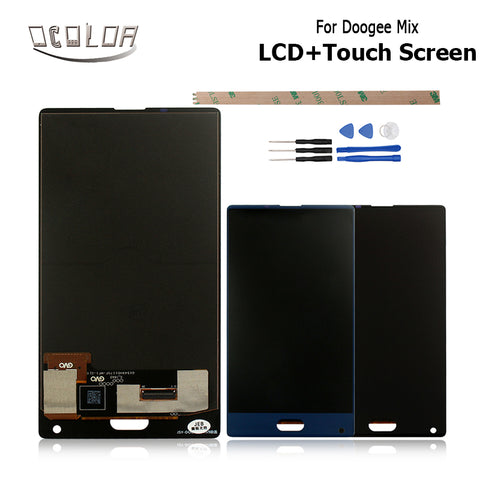 Original For Doogee Mix LCD Display and Touch Screen Screen Digitizer Assembly Replacement For Doogee Mix Mobile Phone Parts