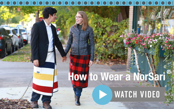 How to wear a NorSari