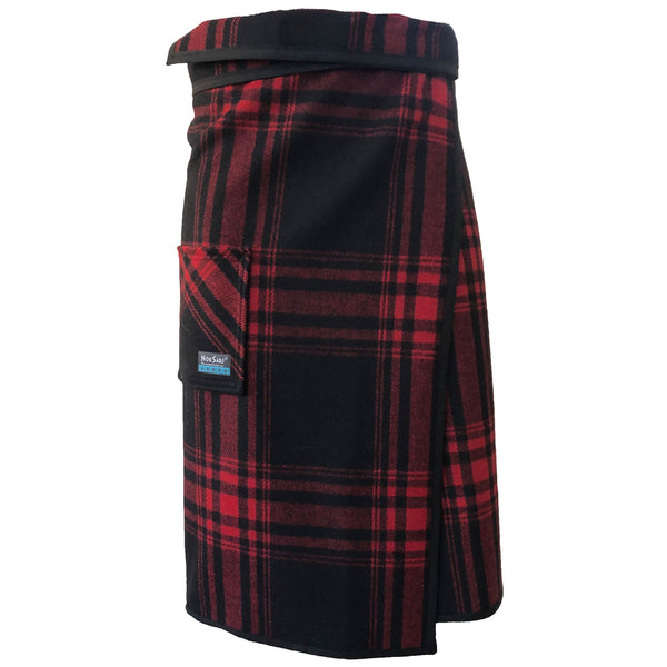 The Red and Black Plaid