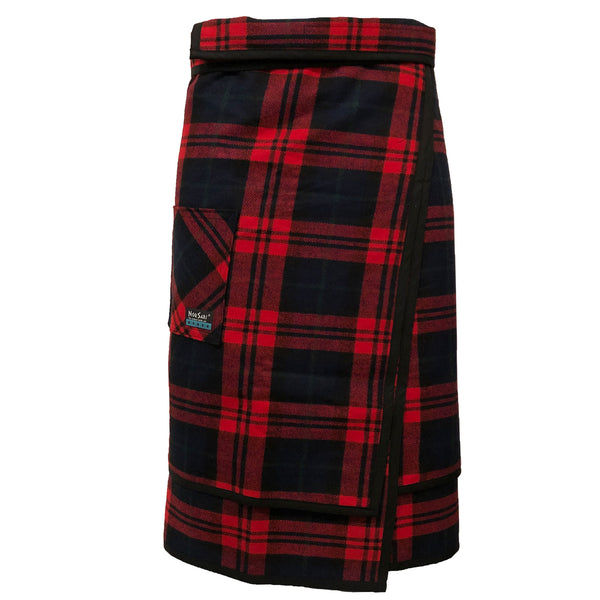 The Buffalo Plaid Double