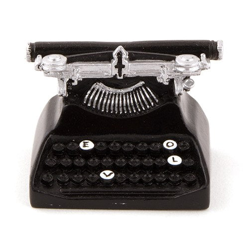 Vintage Typewriter Card Holder (6 pk)
