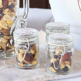Small Glass Jar With Wire Snap Lid Favour Container (12 pk)