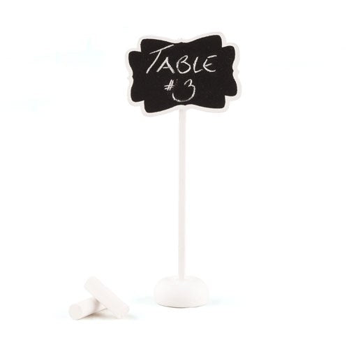 Decorative Chalkboard With Stand - Small