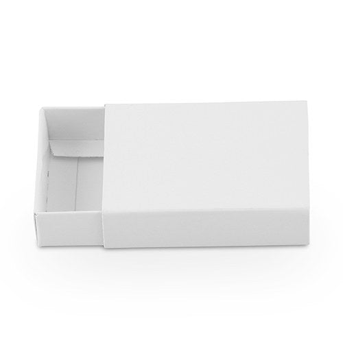 White Drawer-Style Paper Favour Box (8 pk)