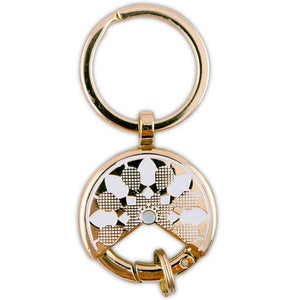 Gold Dream Catcher Keychain Wedding Favour (6 pk)