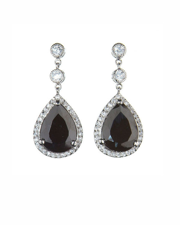 Decadence Earrings - Black