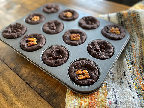 recette brownies citrouille cacao