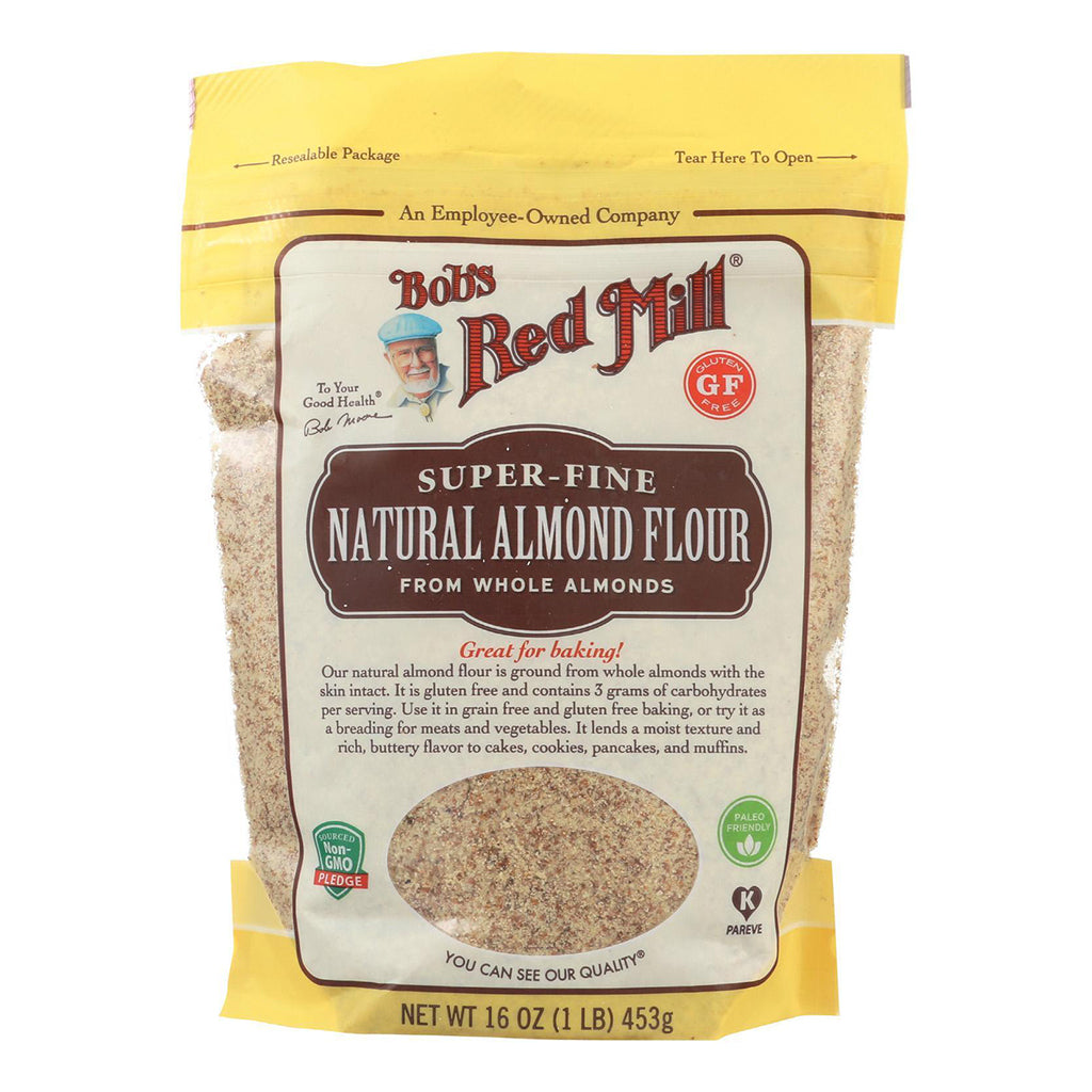 bobs red mill farine amandes naturelle 453 g