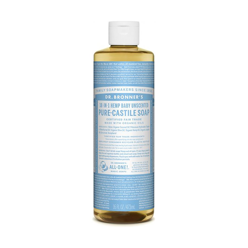 Pure Castile Soap - Unscented for Baby