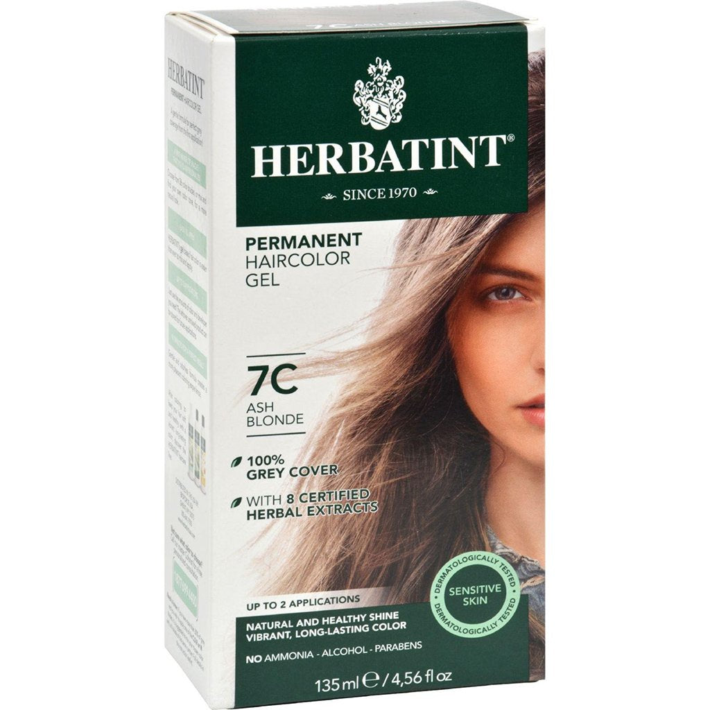 Colorant Permanent à Cheveux - blond Cendré 7C