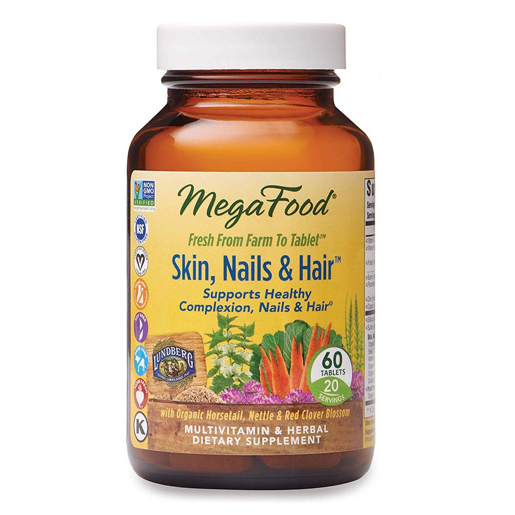 MegaFood peau, ongles, cheveux
