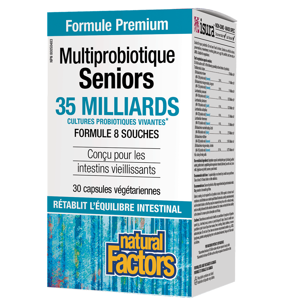 Multiprobiotiques Seniors Natural Factors