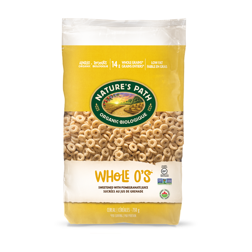 Nature's Path Organic Whole O'S Cereal 750g
