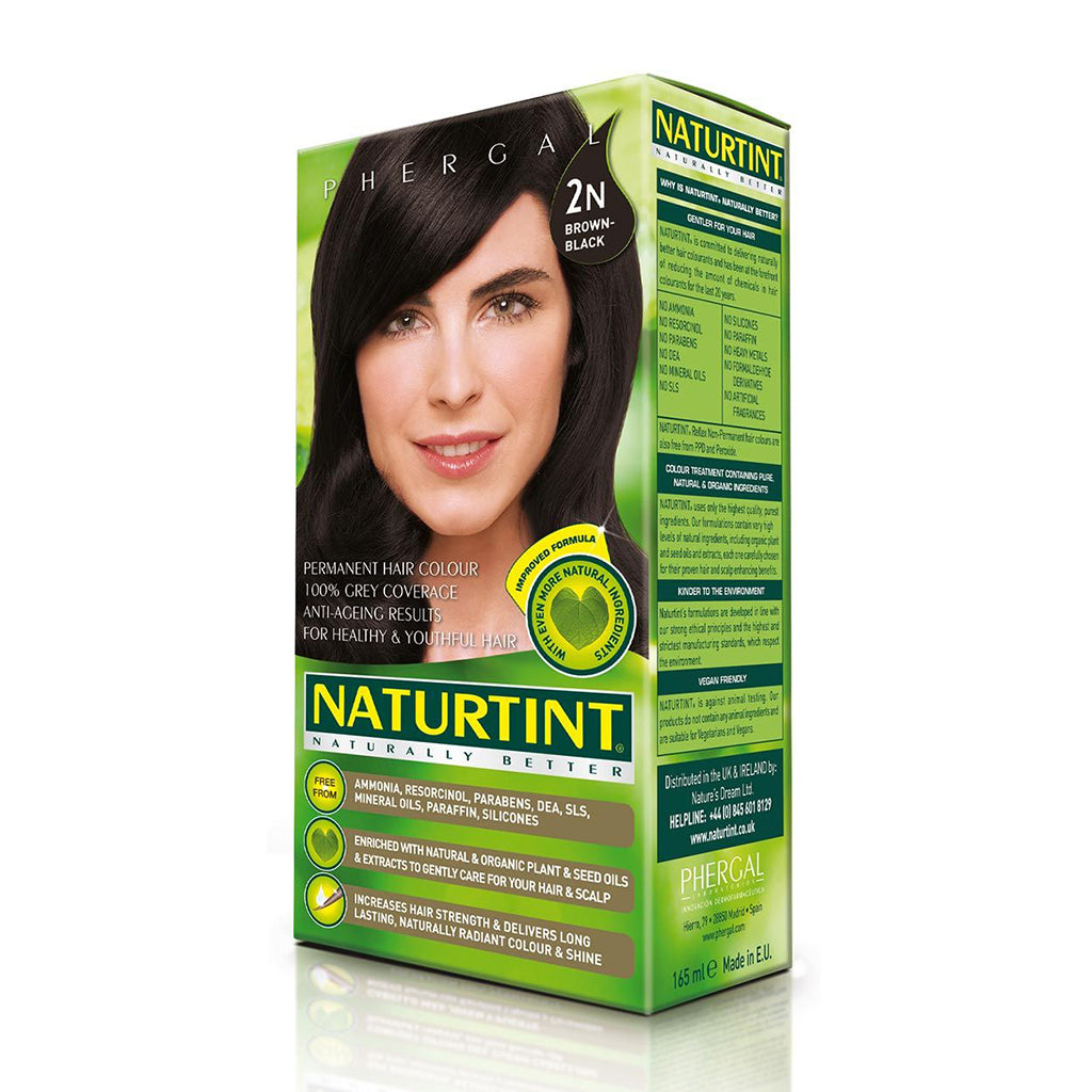 Coloration Cheveux Naturelle Brun 165 mL de Naturtint
