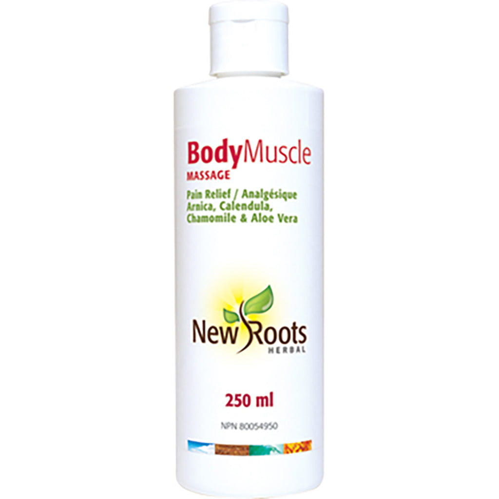 body muscle massage new roots 250 ml