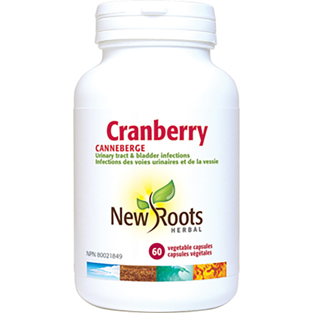 canneberge 600 mg new roots 60 capsules