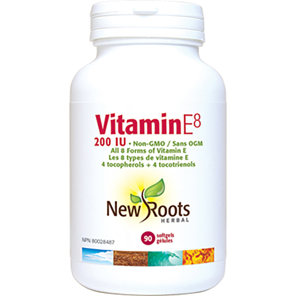 vitamine e8 200 iu new roots 90 gélules
