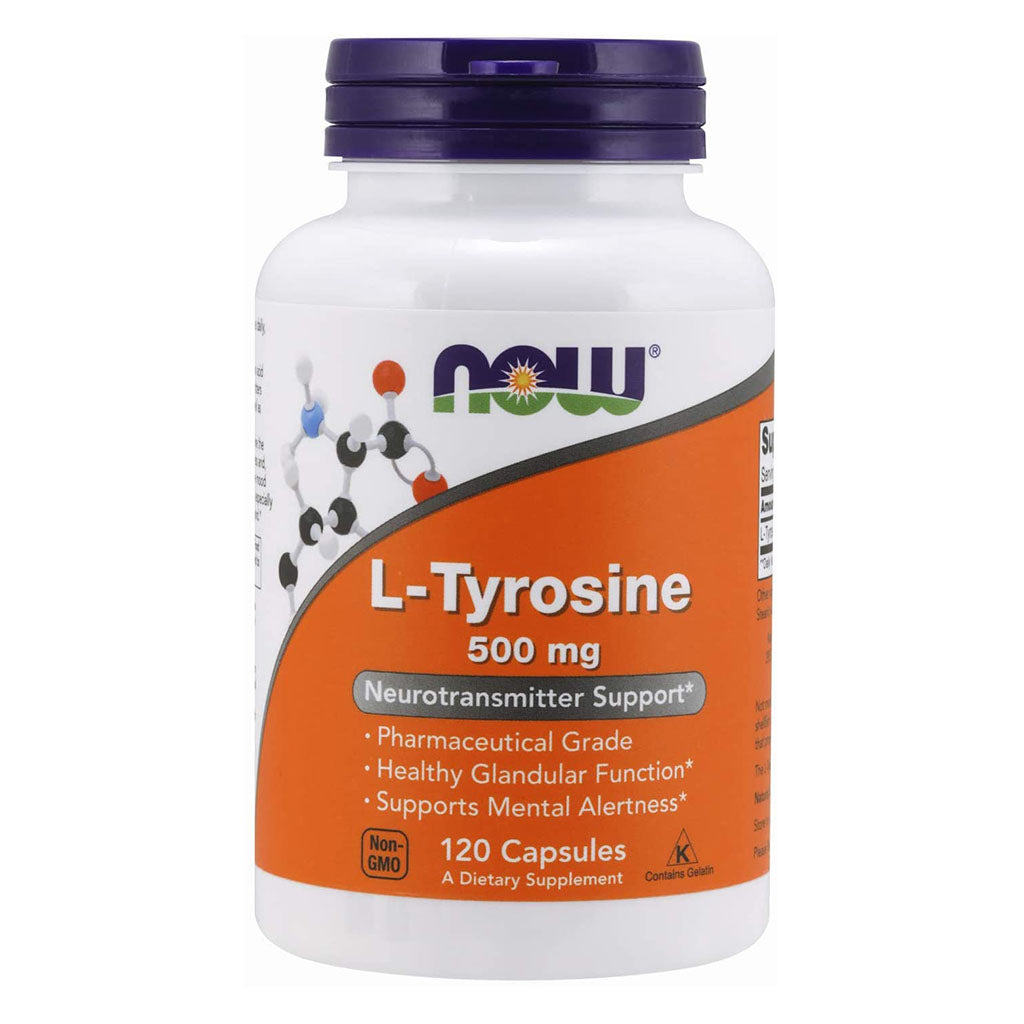 L-Tyrosine 500 mg Now