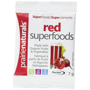 Superaliments Red Superfoods 7 g de Prairie Naturals