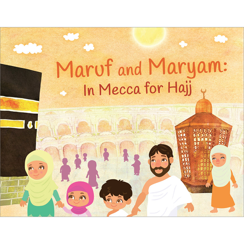 Maruf and Maryam In Mecca for Hajj