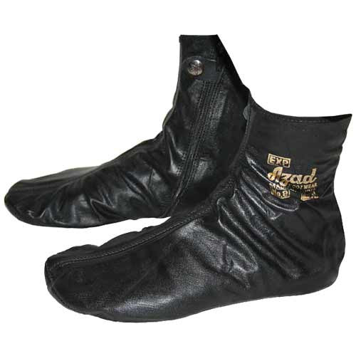 Azad Leather Socks