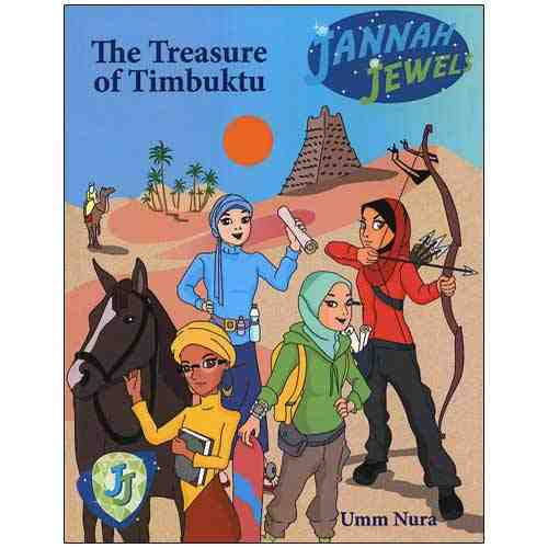 Jannah Jewels - The Treasure Of Timbuktu: Book 1 - east-west-souk