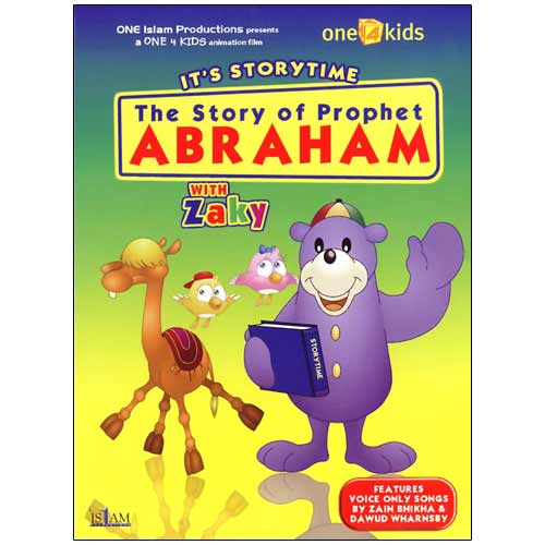 The Story of Prophet Abraham with Zaky (DVD)
