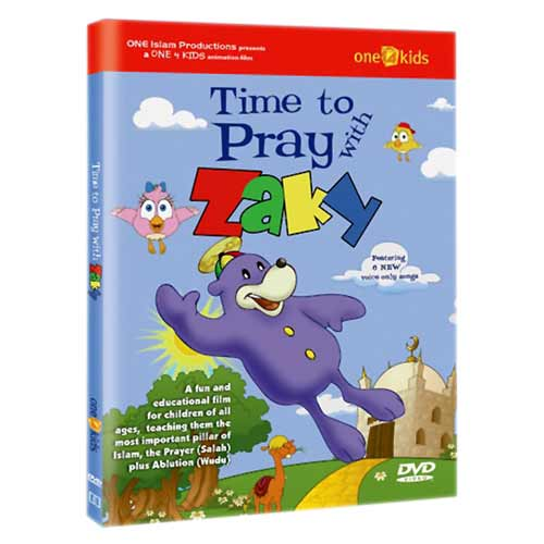 Time To Pray With Zaky (Dvd) - east-west-souk