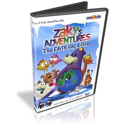Zaky'S Adventures - The Earth Has A Fever (Dvd) - east-west-souk
