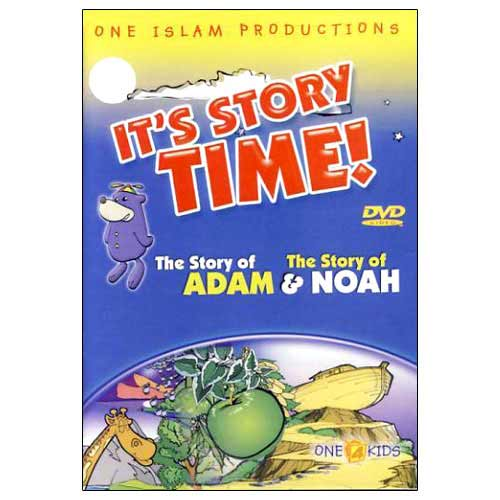 It's Story Time! The Story of Adam and Noah (DVD)