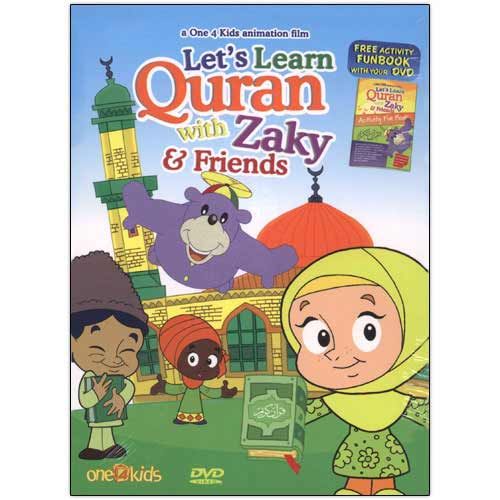 Let'S Learn Qur'An With Zaky & Friends (Dvd) - east-west-souk