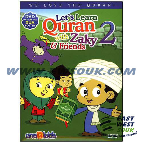 Let's Learn Quran with Zaky & Friends - Part 2