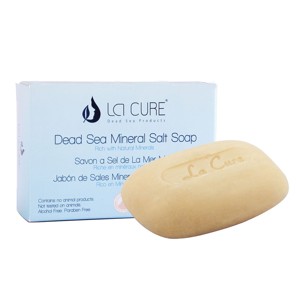 La Cure Dead Sea Mineral Salt Soap (90 Gm)