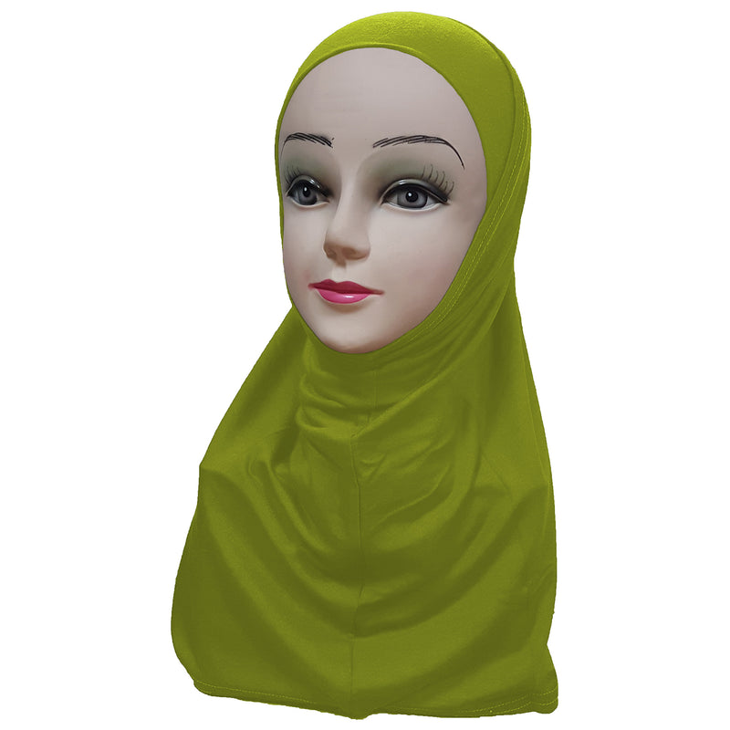Women's Jerseh Amira Hijab Two Piece - Plain Color