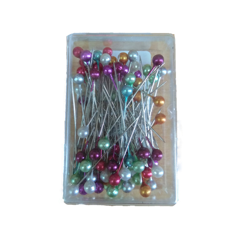 Stainless Steel Head Hijab Pin - Colorful