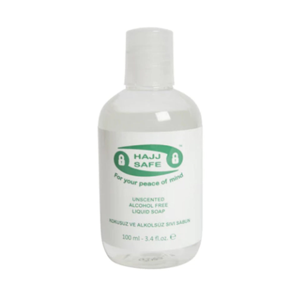 Hajj & Umrah Unscented, Alcohol Free Liquid Soap