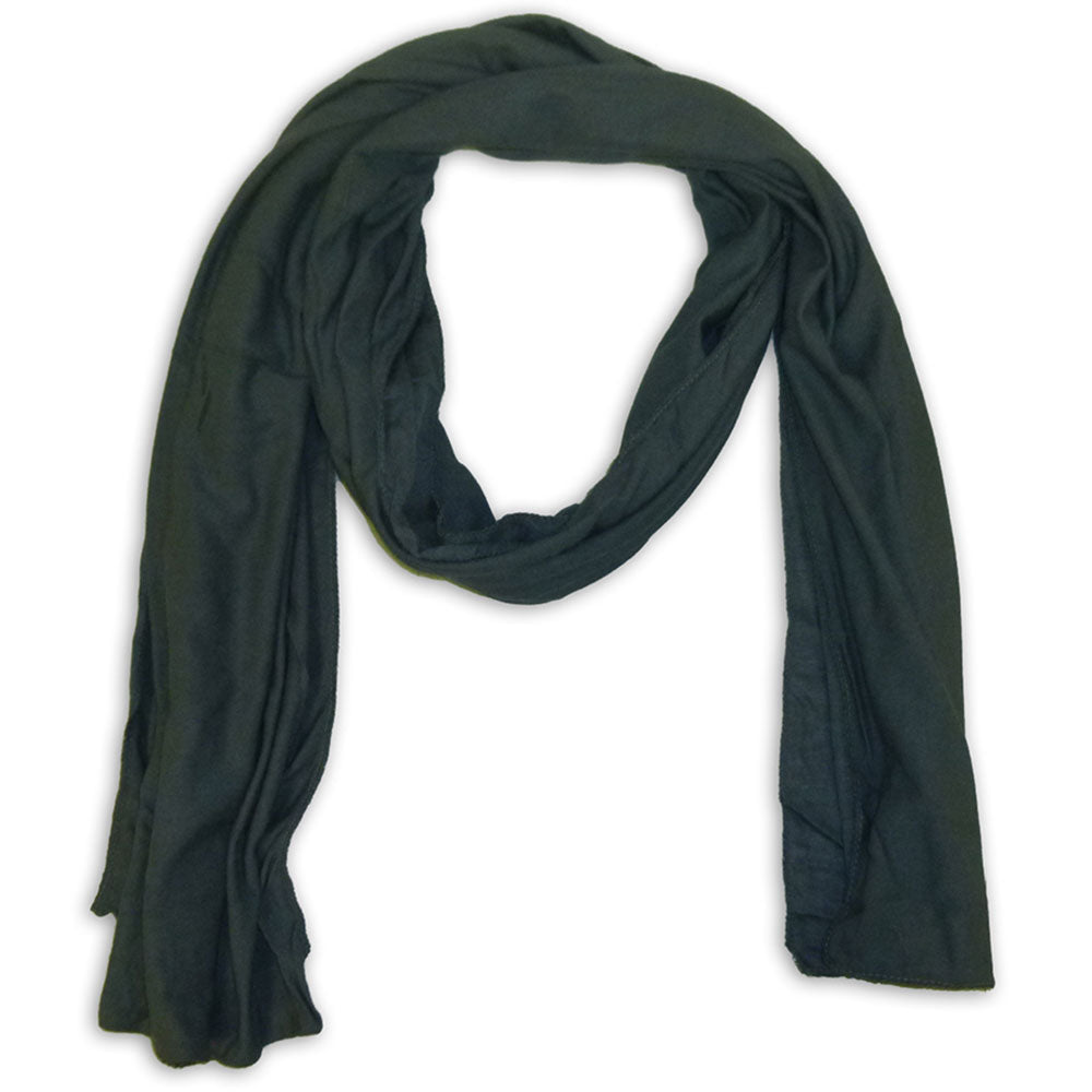 Women's Cotton Scarf Wrap Shawl - Plain Color