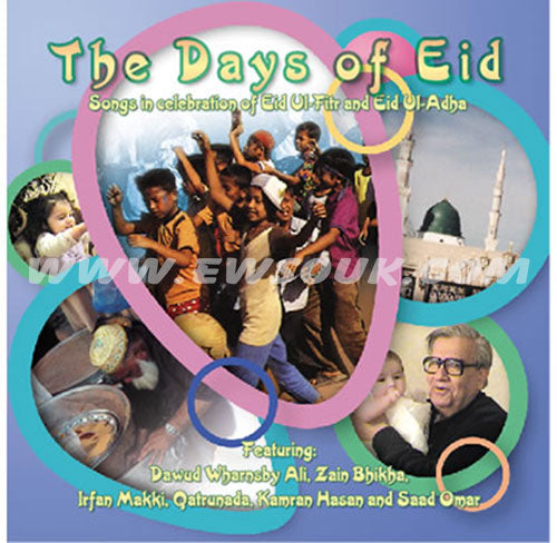 The Days of Eid Songs in Celebration of Eid ul-Fitr and Eid ul-Adha (Audio CD) - east-west-souk