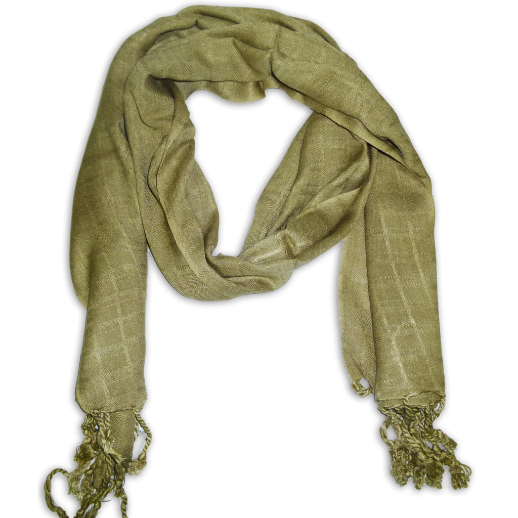 Women's Pashmina Style Scarf Wrap Shawl with Fringes