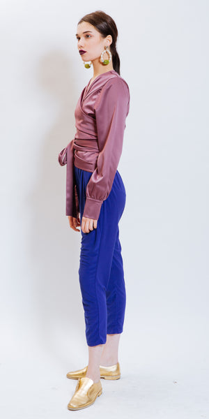 CARMEN URBAN PANTS - ROYAL BLUE