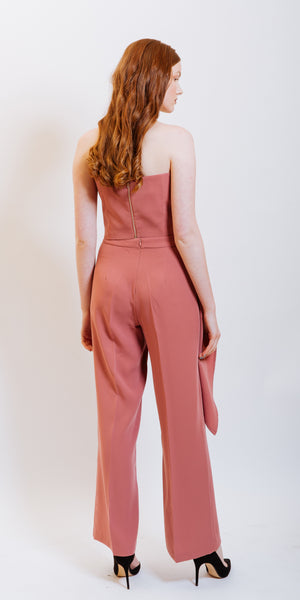 VIVAN HIGH WAISTED PANTS - PINK