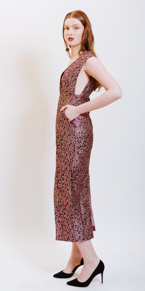 LILIANA BROCADE DRESS