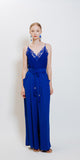 Lucie Bretelle Lace - Royal Blue