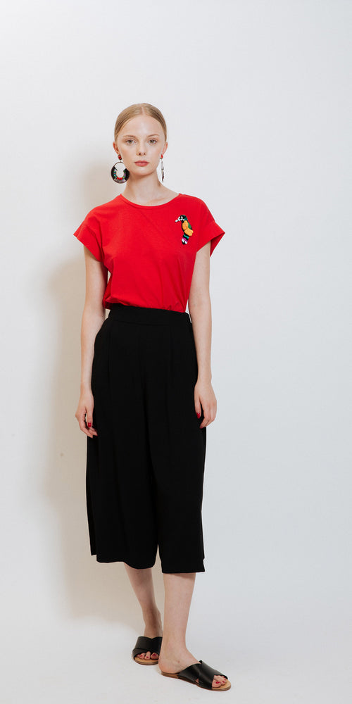 Parrot Tee - Red