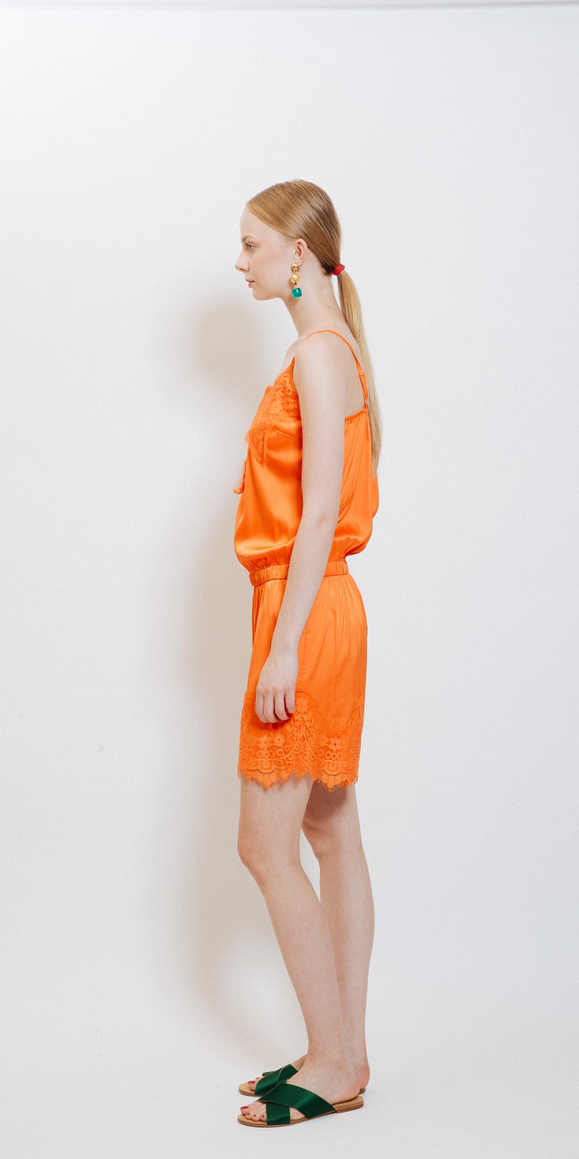 Colette Jumpsuit Orange