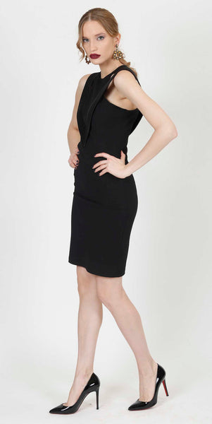 LINEA EVENING DRESS BLACK